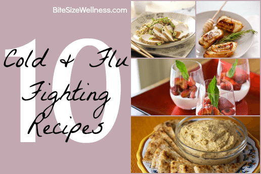 10 Cold & Flu Fighting Recipes