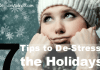 de-stress from the holidays