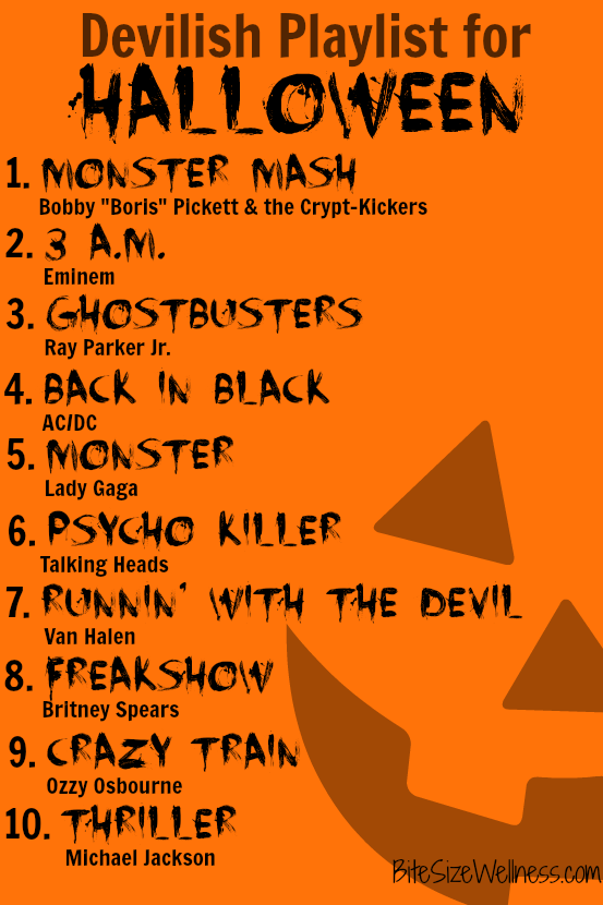 Devilish Playlist for Halloween