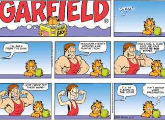 Garfield Fitness Comics