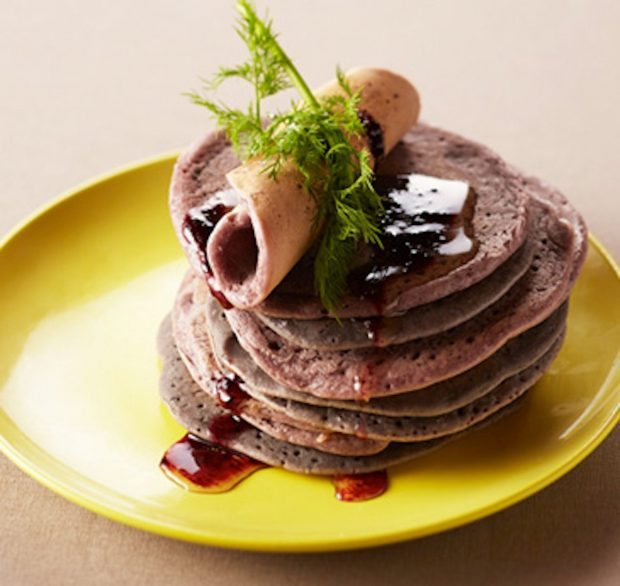 Juicepresso Blueberry Juice Pulp Pancakes