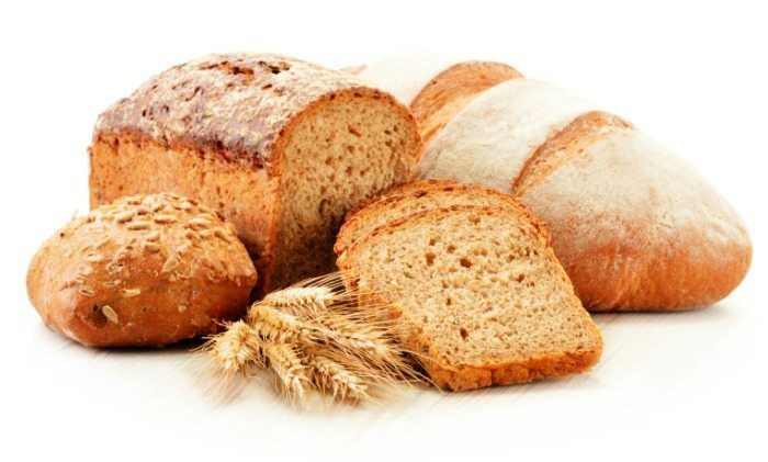 bread carbohydrates daily food intake recommendation