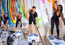 indoor paddle board