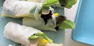 Health spring roll recipes