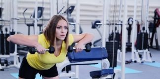 girl in the gym