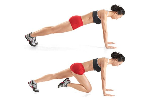 mountain climber workout