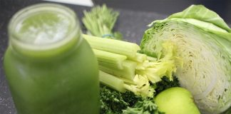 juice green jar detox vegetables